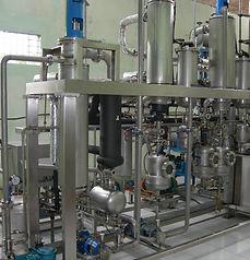 Molecular distillation