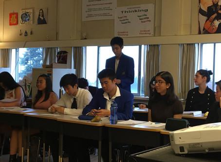 SS debates in Leadership