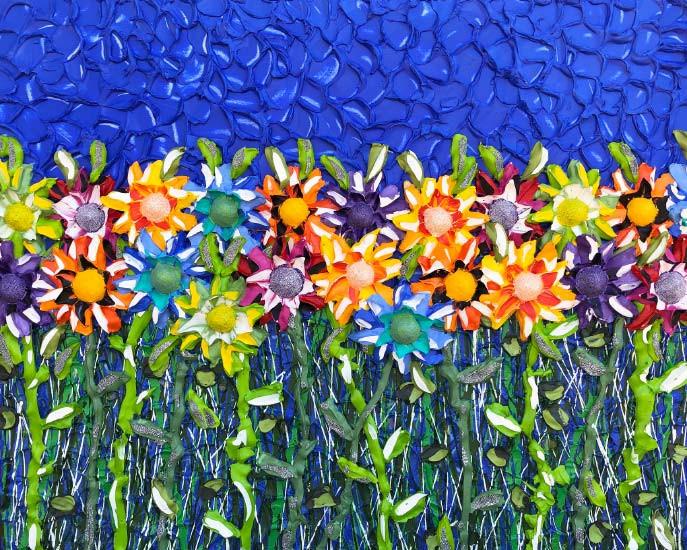 Field of Flowers (A$9,500)