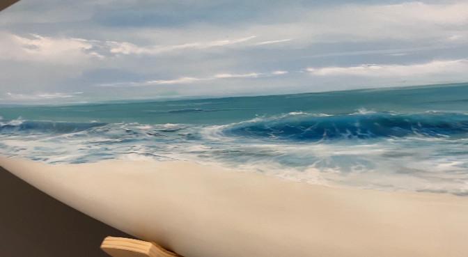 Touching The Ocean - closeup