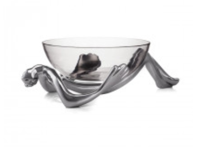 Carrol Boyes - Glass Bowl and Stand