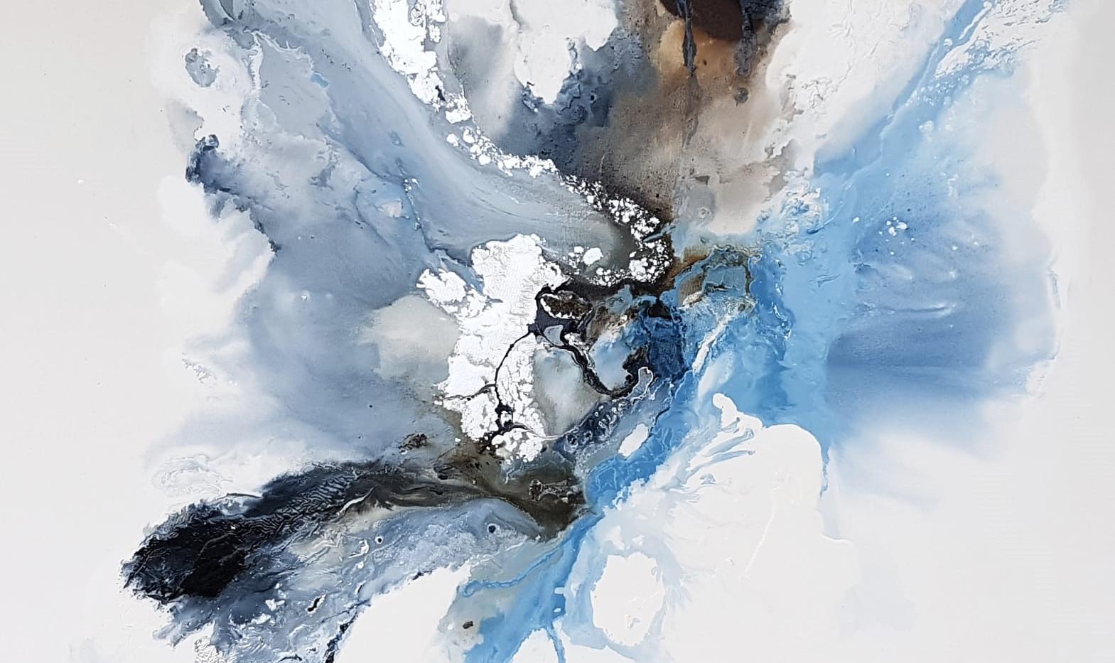 Ice Turbulance 1.3 x 1.3 m