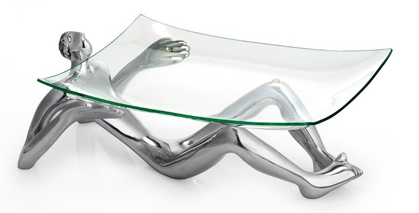Carrol Boyes - Glass stand / platter