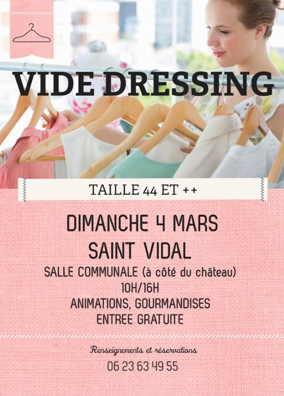 VIDE DRESSING TAILLE 44 ET +