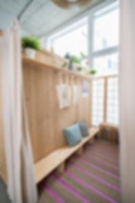 Yoga Loft Garderobe