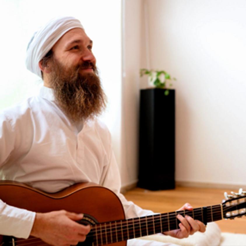 Einladung zum Sadhana mit Live Musik von Nikolai