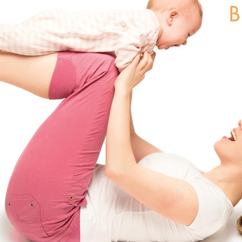 Rückbildung mit Baby neuer Kursstart