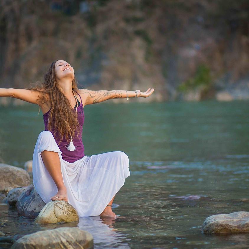 Guten Morgen Breathwork Ceremony mit Mela Mariposa
