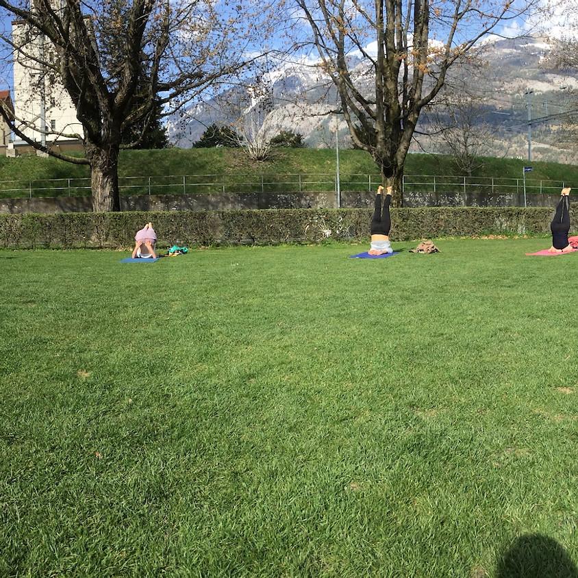 Outdoor Yoga auf der Turnerwiese