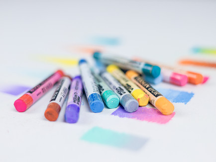 Explore the magic of colorful pastels