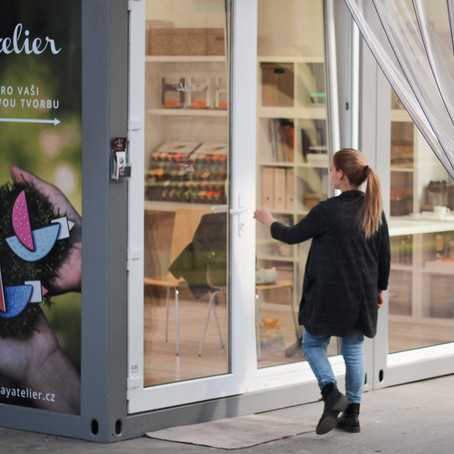 Na návštěvě v LC Atelieru/ Visit in the LC Atelier
