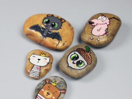 Namalujte si vlastní barevné kamínky!