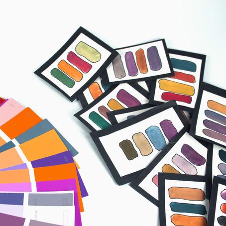 Psychologie barev / Colors psychology