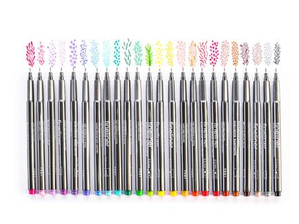 Nalaďte se na vlnu barevných fine linerů!