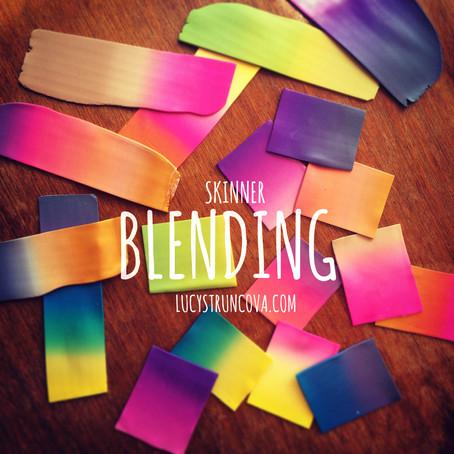 Blendování s polymerem/Skinner blending