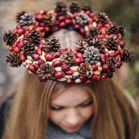 Podzimní věnec / Autumnal wreath