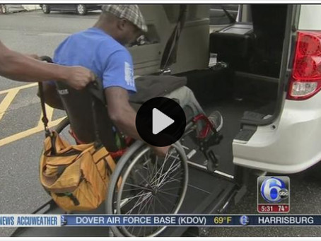 First wheelchair accessible Philadelphia taxis unveiled