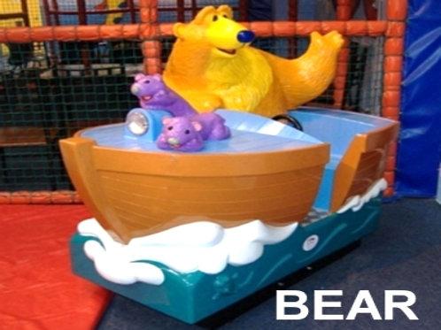 Bear in The Boat
