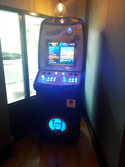 Steampunk Retro Arcade
