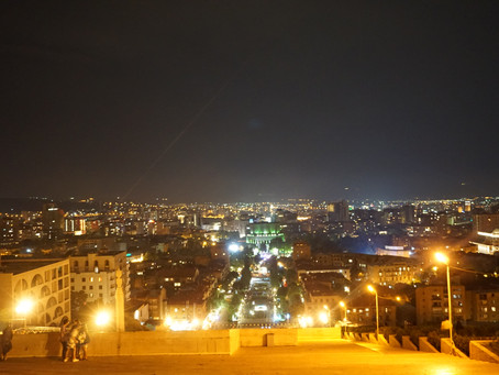 エレバンの夜景