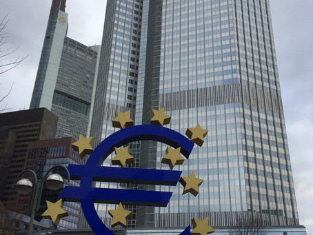 ヨーロッパの金融の中心地へ💶