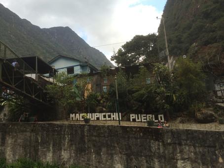 マチュピチュ村へGO🚆