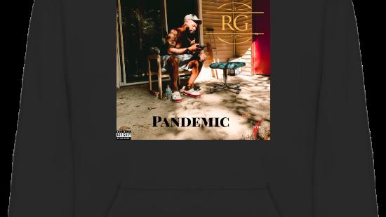 Pandemic Hoodie  (Black)
