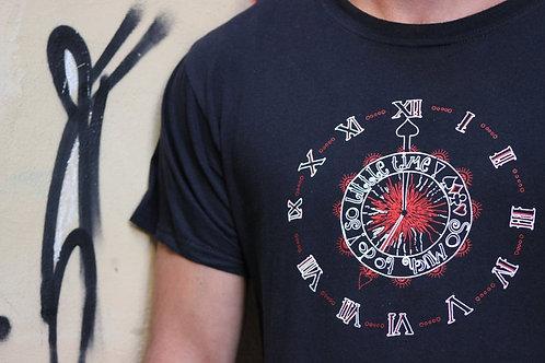 Unisex Clockface Tshirt