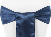 Navy blue satin sash.png