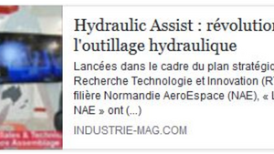 Article dans Industrie-mag.com