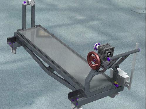 Bati roulant de montage forte charge CPM010100-00-L1600