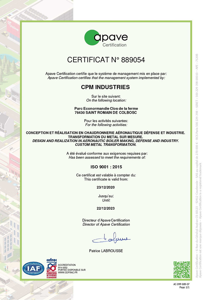 889054-8896 - Certificat initial _CPM In