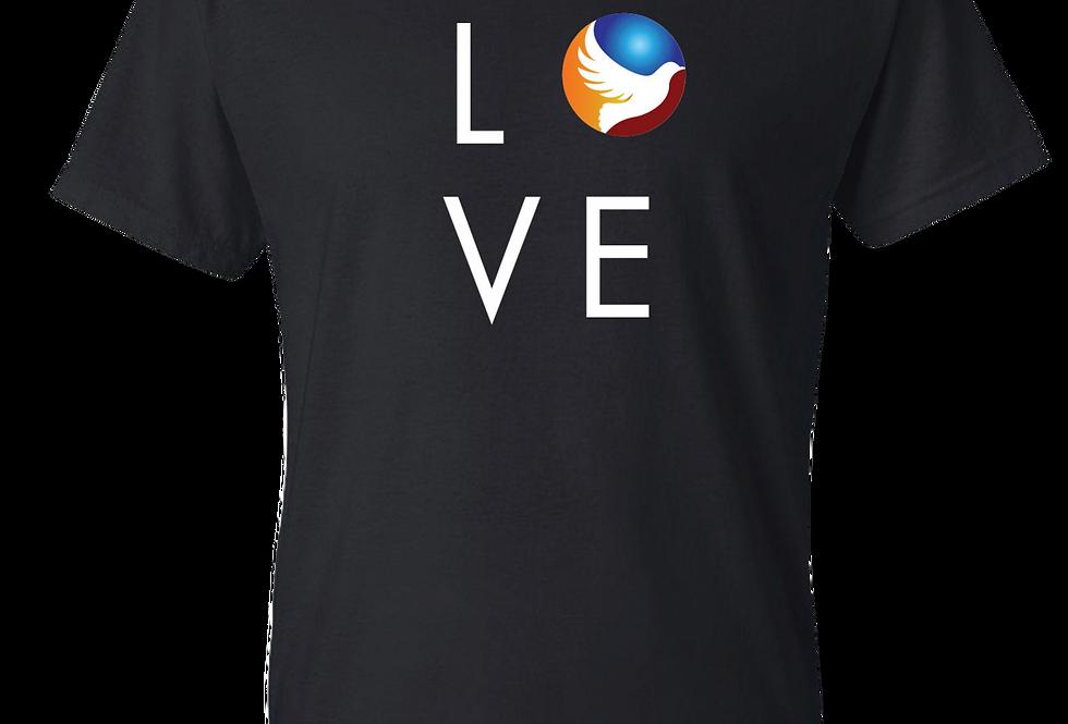 L O V E  Black Shirt