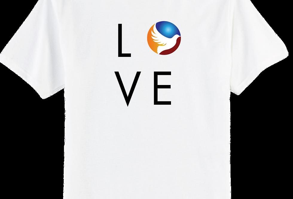 L O V E White Shirt