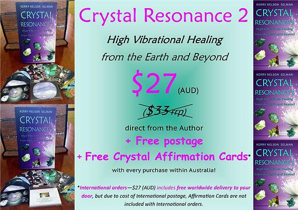 Crystal Resonance 2 Author Sale
