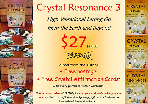 Crystal Resonance 3 Author Sale