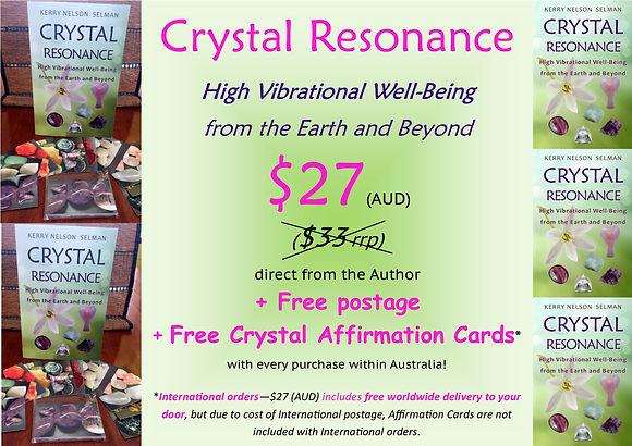 Crystal Resonance Author Sale