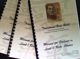 Reiki Manuals by Kerry Selman