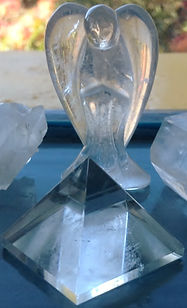 Vibrational Oneness & Crystal Resonance Clear Quartz from Kerry's collection
