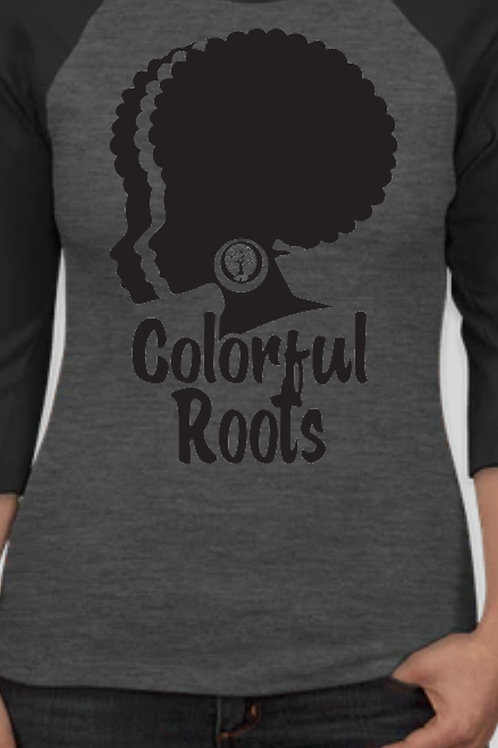 Colorful Roots Afro Queen Shirt