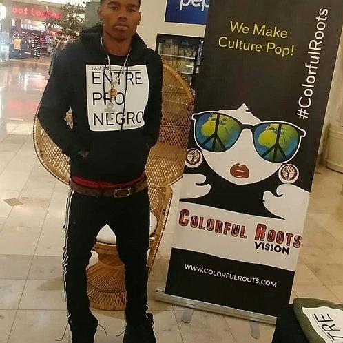 Entre Pro Negro Hoodie