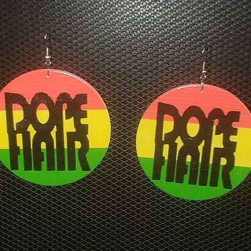 Dope Hair Earrings