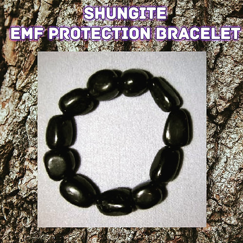 Sleek Unisex Shungite Bracelet