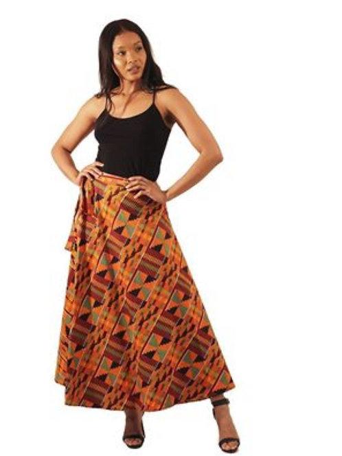 Afro Style Kente Wrap Around Skirts