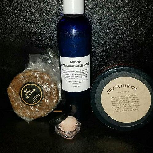 Natural Skin Care Kit