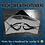 Thumbnail: Black Beige Reversable Facemask