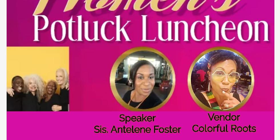 Women's Potluck Luncheon