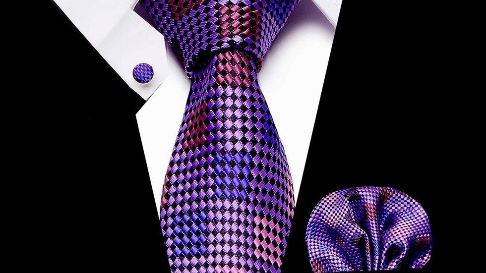 Square 3- pc Tie Silk Set
