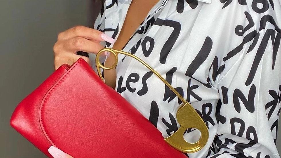 Safety Pin - Women's  Handbag