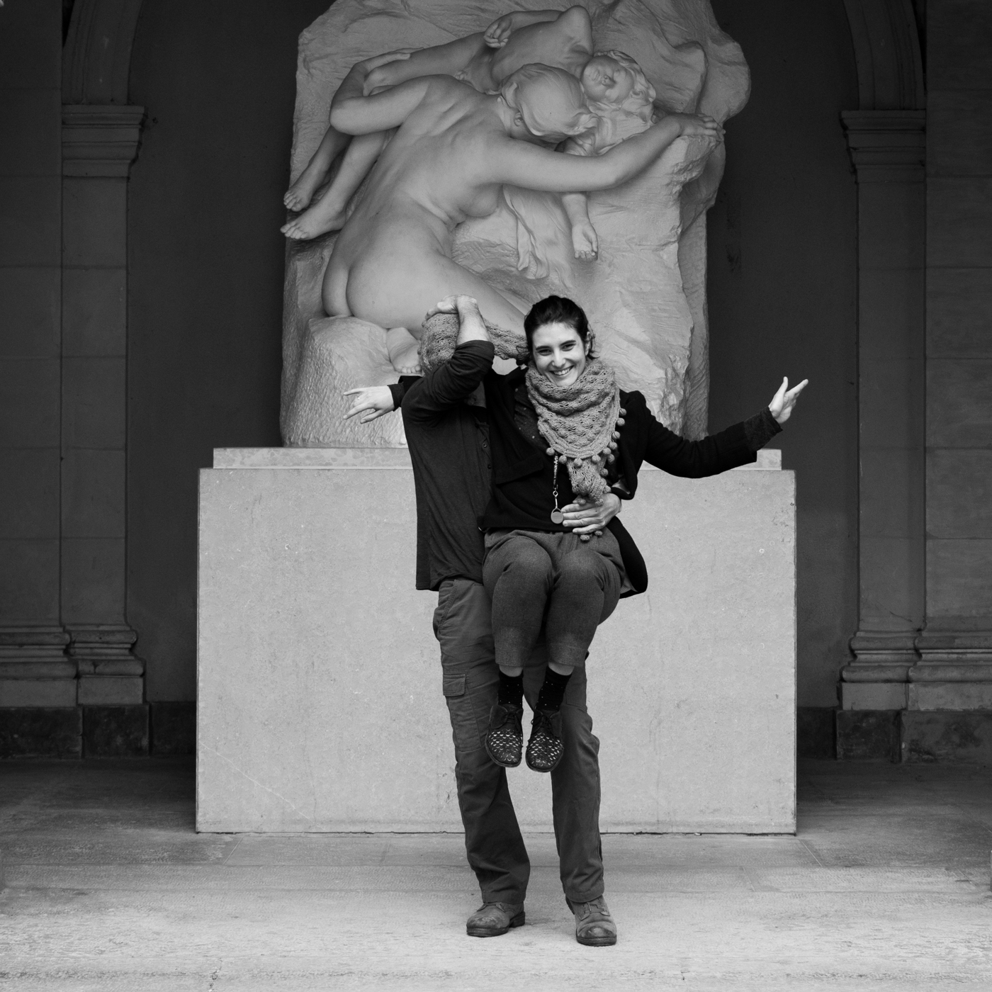 Musée Lyon 2016 - Autoportrait écharpé